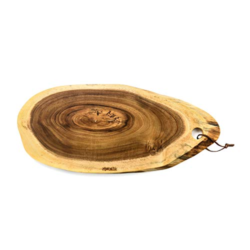 DESIGN DELIGHTS massief houten keukenplank Style DE Vie | acaciahout, geolied | serveerplaat, houten plank, snijplank Groot