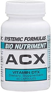 Systemic Formulas Bio Nutriment ACX Vitamin DTX 60 Capsules