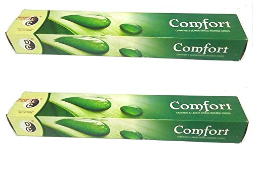 Comfort Lemon Grass Incense Mosquito Repellent Sticks -Pack of 2 Boxes