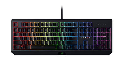 Razer BlackWidow Tastiera Meccanica, Layout USA, RGB Chroma Lighting, Nero