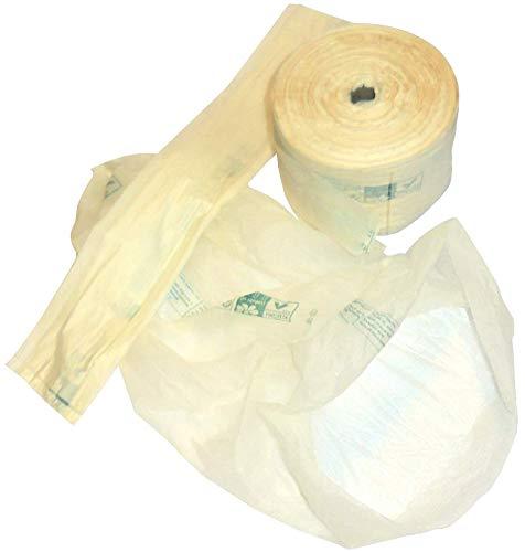 300 bolsas de rollo de 35 x 50 cm Bio Compost sobre de plástico biológico para alimentos