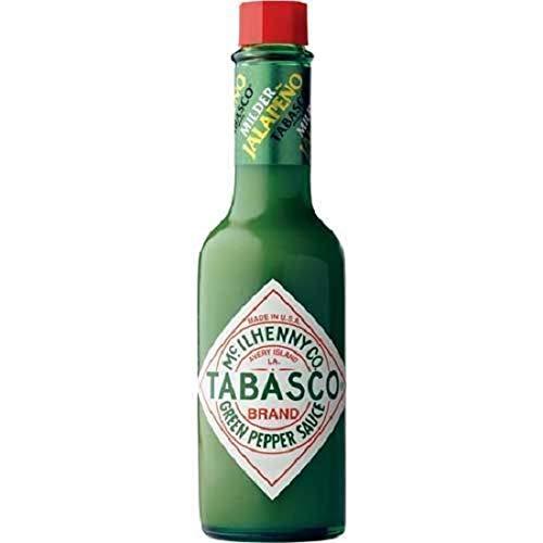 Tabasco - Salsa de pimienta verde Jalapeno (botella de 57 ml)