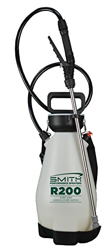 Smith Performance Sprayers R200 2-Gallon Compression Sprayer for Pros Applying Weed Killers, Insecticides, and Fertilizers