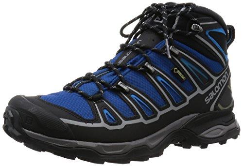 Salomon X Ultra Mid 2 GTX, Herren Trekking- & Wanderstiefel, Grün (Gentiane/Black/Methyl Blue), 44 2/3 EU (10 Herren UK)