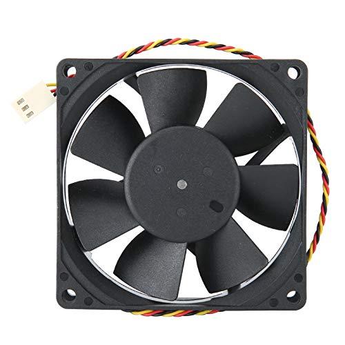 Socobeta Ventilador de refrigeración del disipador de Calor más frío DC 12V 80000 Horas 3PIN SHLF0812HHE-08 Ventilador de disipación de Calor 0.38A para PC