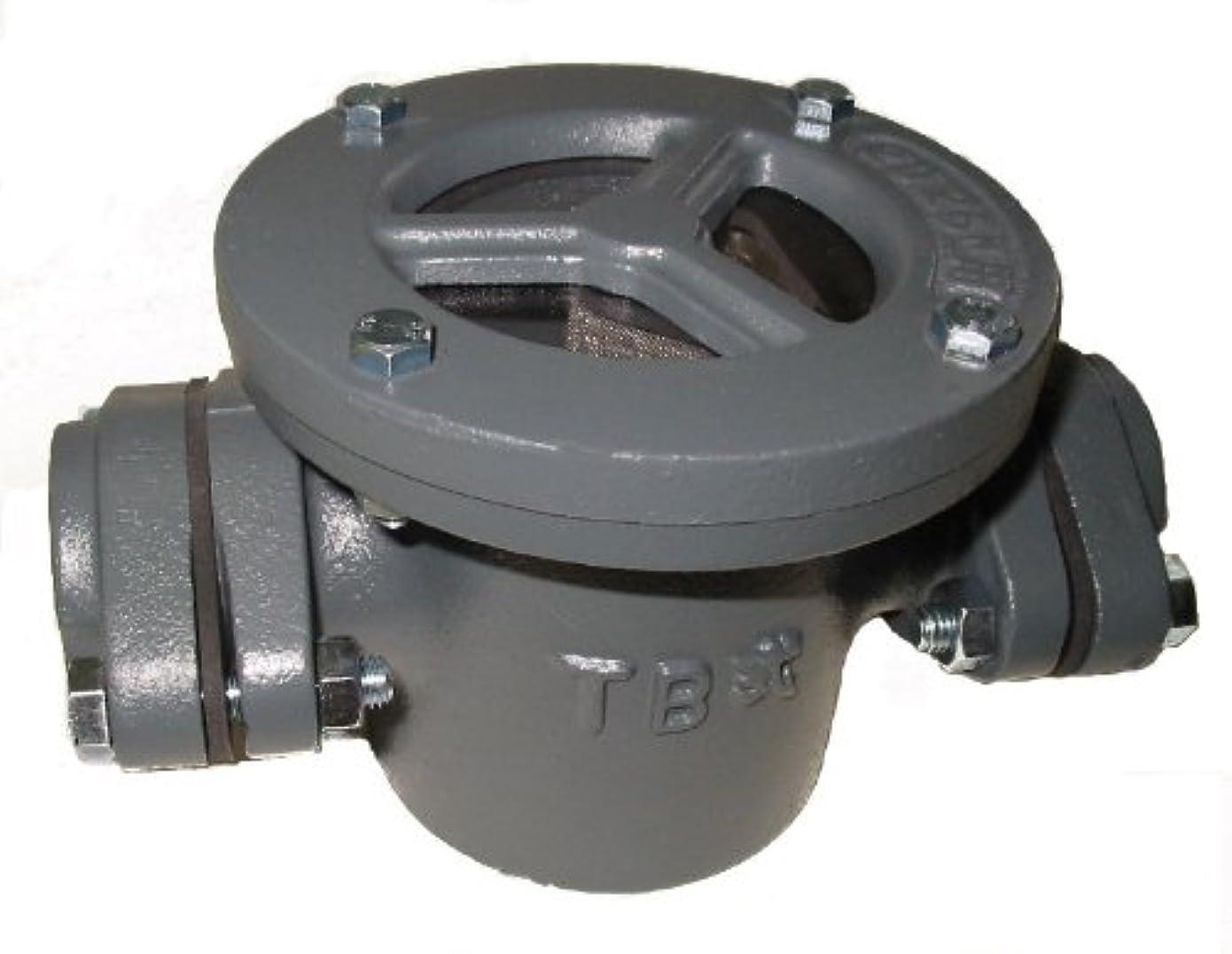 下手虹しわ鋳鉄製砂取器『TB式砂取器』S-25