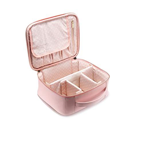 Sac de Lavage Portable Multi-Fonction de Grande capacité (Rose) (Color : Pink, Taille : A)