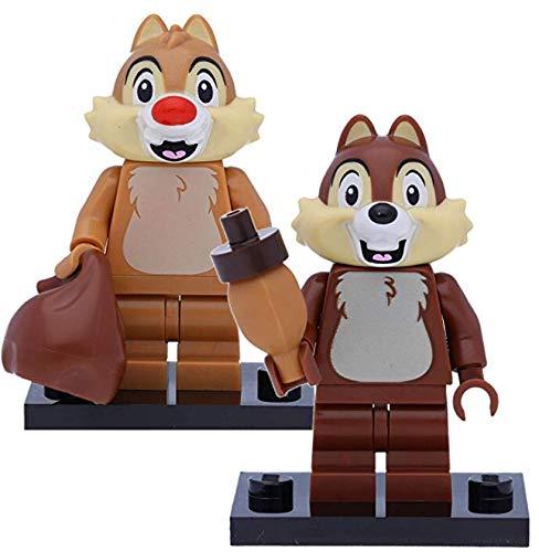 LEGO 71024 Disney Serie 2 - Figuras de chipset 7 y Chop (Escala 1:8)