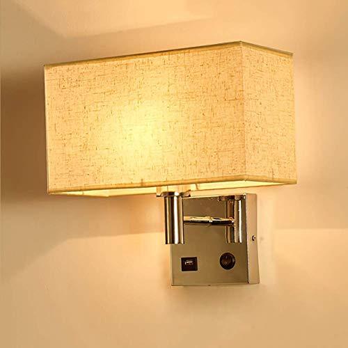 Wandverlichting kleuren van het gordijn complex proces wandlamp design voordelig USB moderne studiokamer gasten wandverlichting