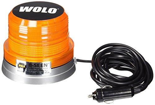 Wolo 3050-A B-Seen Gen 3 LED Technology Amber Lens (12 Volt, Magnet Mount)