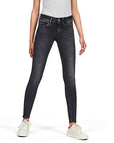 G-STAR RAW Lynn Mid Waist Super Skinny Jeans voor dames