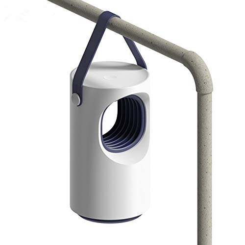 YANE Lámpara para Matar Mosquitos De Interior para El Hogar Fuente De Luz LED Lámpara De Insectos Repelente De Mosquitos Portátil