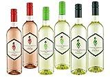 Weinpaket Prinzessin Weinchen - Bacchus, Rotling, Scheurebe - lieblicher fruchtiger Wein - Weißwein/Roséwein (6x0,75l)