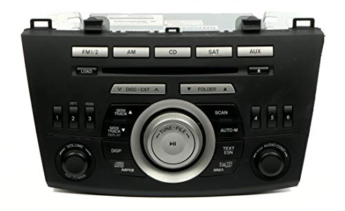 1 Factory Radio AM FM Tuner & Receiver MP3 6 Disc CD Changer in Dash Compatible with 2010 Mazda 3 BBM466ARXB