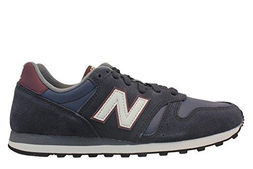 New Balance Ml373, Zapatillas Bajas Hombre, Azul Marino Blanco, 39.5 EU