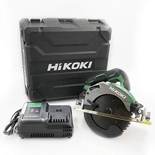 【Amazon.co.jp限定】HiKOKI(ハイコーキ) 旧日立工機 コードレス丸のこ 36V マルチボルト 充電式 刃径165mm C3606DA (XP)(K) 初回修理保証付き 蓄電池1個、充電器、ケース、スーパーチップソー黒鯱×1枚(本体装着)付