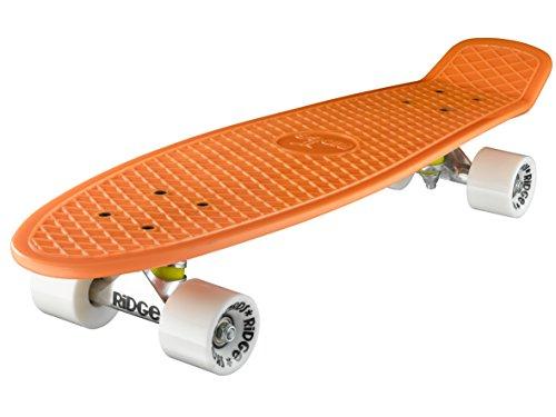 Ridge Retro 27 Skateboard, Unisex, Naranja, 69 cm