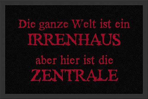 Rockbites 100792 - Felpudo con texto en alemán