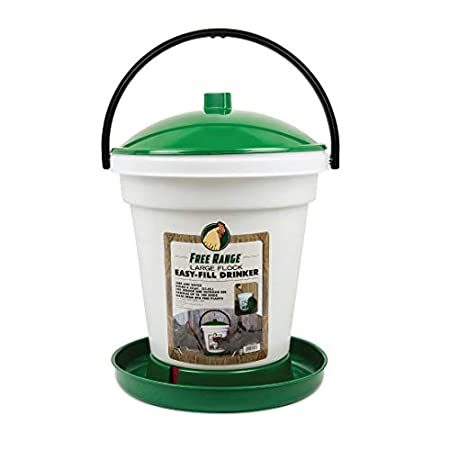 Harris Farms 1000267 6.25 Gallon, Green Chicken Waterer