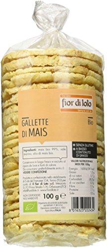 Fior di Loto Gallette di Mais - 100 gr