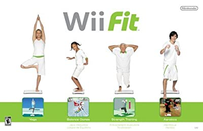 Wii Fit Game with Balance Board (Renewed)