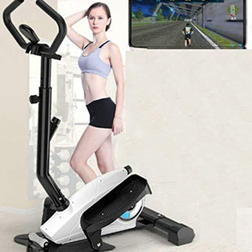 PLEASUR Mini draagbare dynamische stepper/loopband been kunststof machine/home gym type fiets/aerobic gewichtsverlies power stepper met 12 weerstandsniveaus door hydraulische cilinder