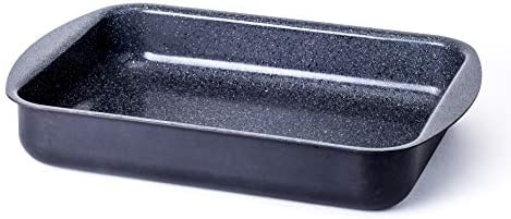 Ceramic Coated Roasting Pan Lasagna Pan With Natural Nonstick Coating Safe For StoveTop and product image