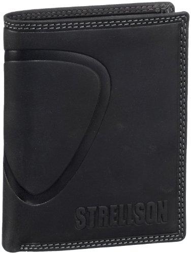 Strellson Baker Street Billfold V8 4010000224 Herren Geldbörsen 10x13x1 cm (B x H x T), Schwarz (black 900)