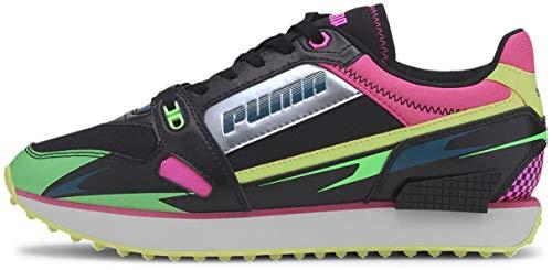 PUMA Mile Rider Ski Getaway Puma Black/Elektro Green 9 B (M)