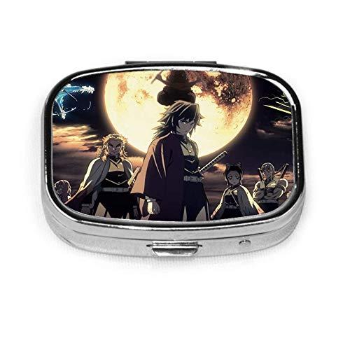 D-emon S-layer Zenitsu K Pill Box Caja decorativa personalizada Soporte para tableta para bolsillo