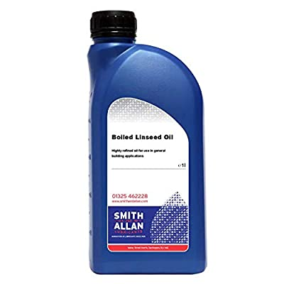 Smith & Allan Boiled Linseed Oil : Size - 1lt