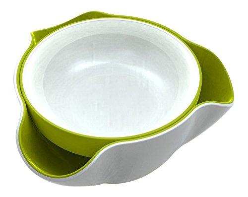 Joseph Joseph DDWG010GB Double Dish Pistachio Bowl and Snack Serving Bowl