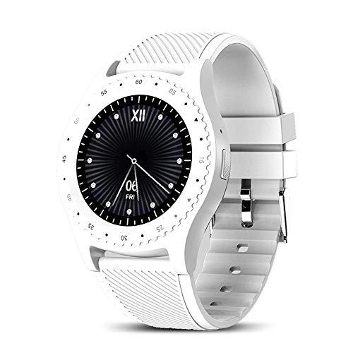 Rastreador de Ejercicios Relojes Inteligentes, Inteligentes con Pantalla táctil Bluetooth Android Reloj Resistente al Agua Reloj del Deporte Hombres Mujeres Smartwatched con Ranura para Tarjeta SIM.