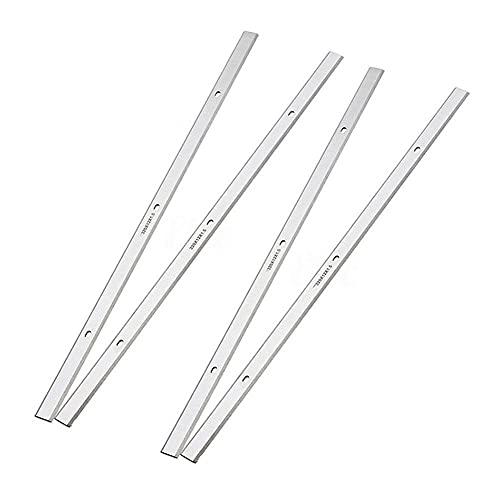 4 Uds 320mm hoja cepilladora de madera HSS cuchillo cepillador eléctrico reversible para Triton TPT125 Delta TP305 TP400LS 22-565 22-560, como se muestra