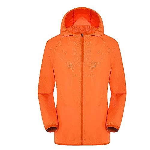 Abrigo de los hombres de la protección solar ocasional de la ropa de las chaquetas a prueba de viento Ultra-