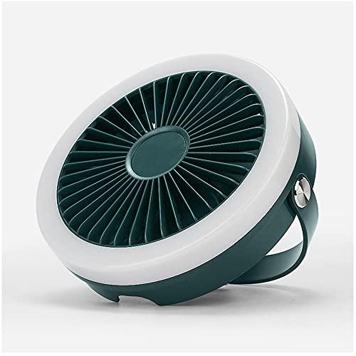Ventilador de escritorio usb, ventilador mini escritorio portátil 3 velocidades 360 ° Rotación USB Ventilador para computadora portátil y portátil oficina PC Tabla escritorio Ventilador-zafiro