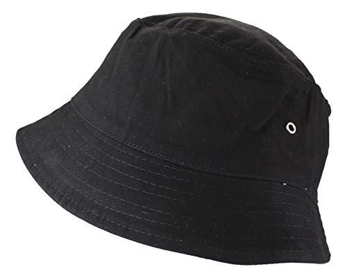 2Store24 Fischerhut in black/black Größe S/M