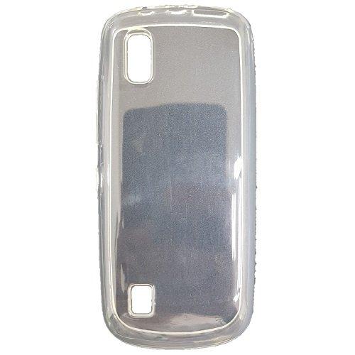Diva Custodia in Silicone/Silicone Case Nokia Asha 300 (Trasparente)