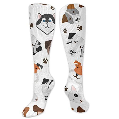 CHENQIAN Niedliche Welpen-Socken für gemischte Rassen von Welpen und Hunden mit gemischten Rassen