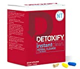 Detoxify – Instant Clean – 3 Capsules – Professionally Formulated Herbal Detox Capsules – Enhanced with Metaboost, Milk Thistle Extract, Uva Ursi & Ginseng Extract