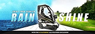 ScooterPac ScooterPac - Universal Fold-Away Mobility Scooter Canopy by ScooterPac