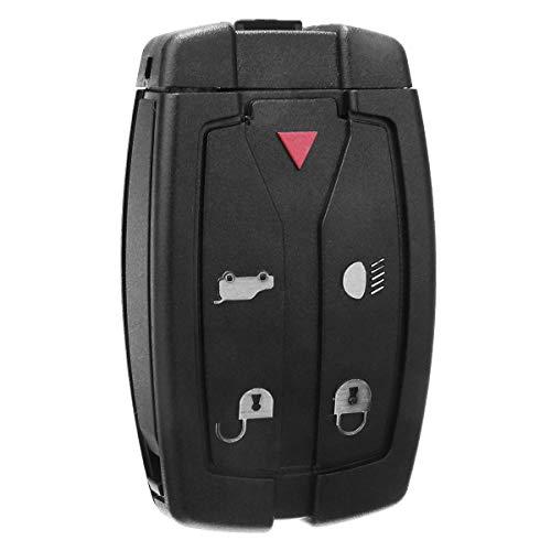 2021 - Carcasa de repuesto para llave de coche para Land Rover Freelander (2 5 botones, mando a distancia inteligente)