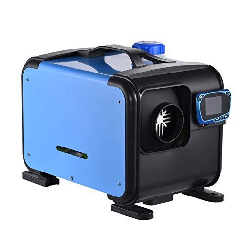 Qians Calefacción Diesel del estacionamiento del Coche Calentador diésel de Aire Compacto de bajo Consumo de Combustible de 5KW 12V, fácil de Instalar y se Puede controlar de Forma remota para Useful