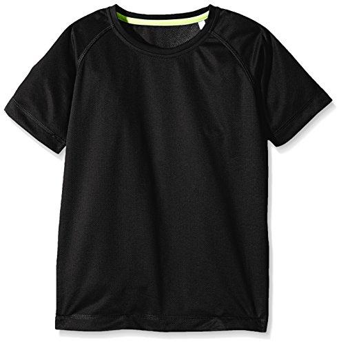 adidas adidas Unisex Baby Active 140 Raglan Bluse, Schwarz (Black Opal 102), 62/68 (Herstellergröße: XL (158-164))