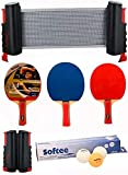Softee Equipment Super Set Ping Pong Negro/Blanco - Blanco