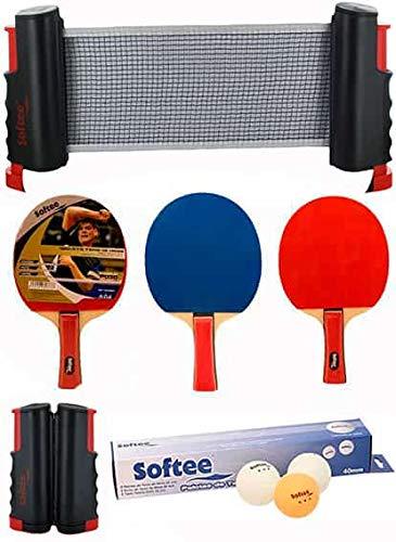 Softee Equipment Super Set Ping Pong Negro/Blanco - Blanco