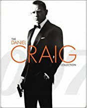 The Daniel Craig Collection - James Bond 007 Steelbook - Includes Casino Royale, Quantum Of Solace, Skyfall