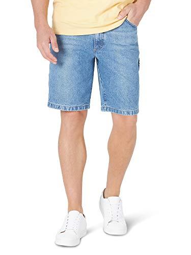 Wrangler Men s Relaxed Fit Carpenter Shorts (Antique Indigo, 42)
