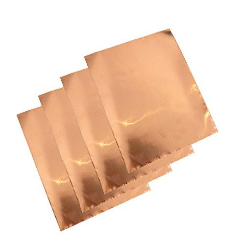 4Pcs Abschirmband Kupferfolie Kupferband Selbstklebend Klebeband- 30cm x 22.5cm
