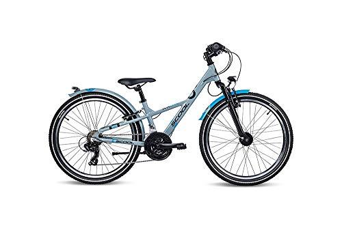 S'cool XXlite Alloy 24 21-S Kinderfahrrad Jugendrad Grey/Petrol 7265